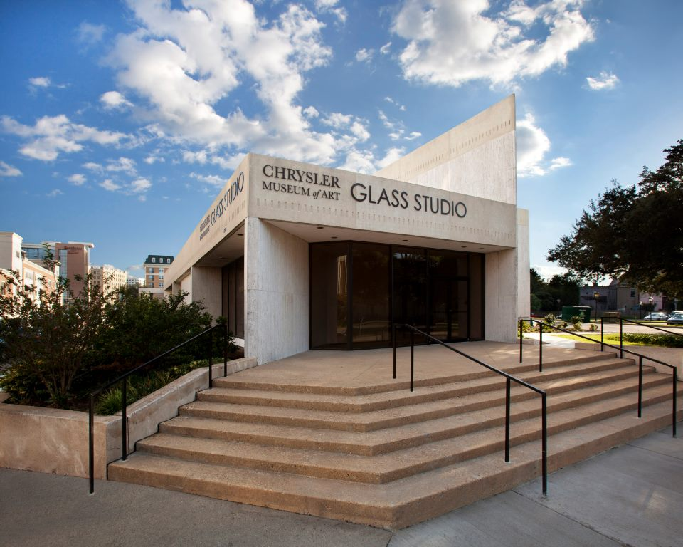 CHRYSLER MUSEUM OF ART TAPS WORK PROGRAM ARCHITECTS   TO EXPLORE POSSIBLE EXPANSION OF ITS PERRY GLASS STUDIO