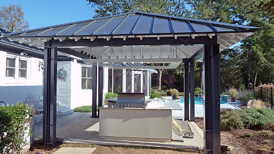 Private Residence Pool Cabana, Virginia Beach, VA