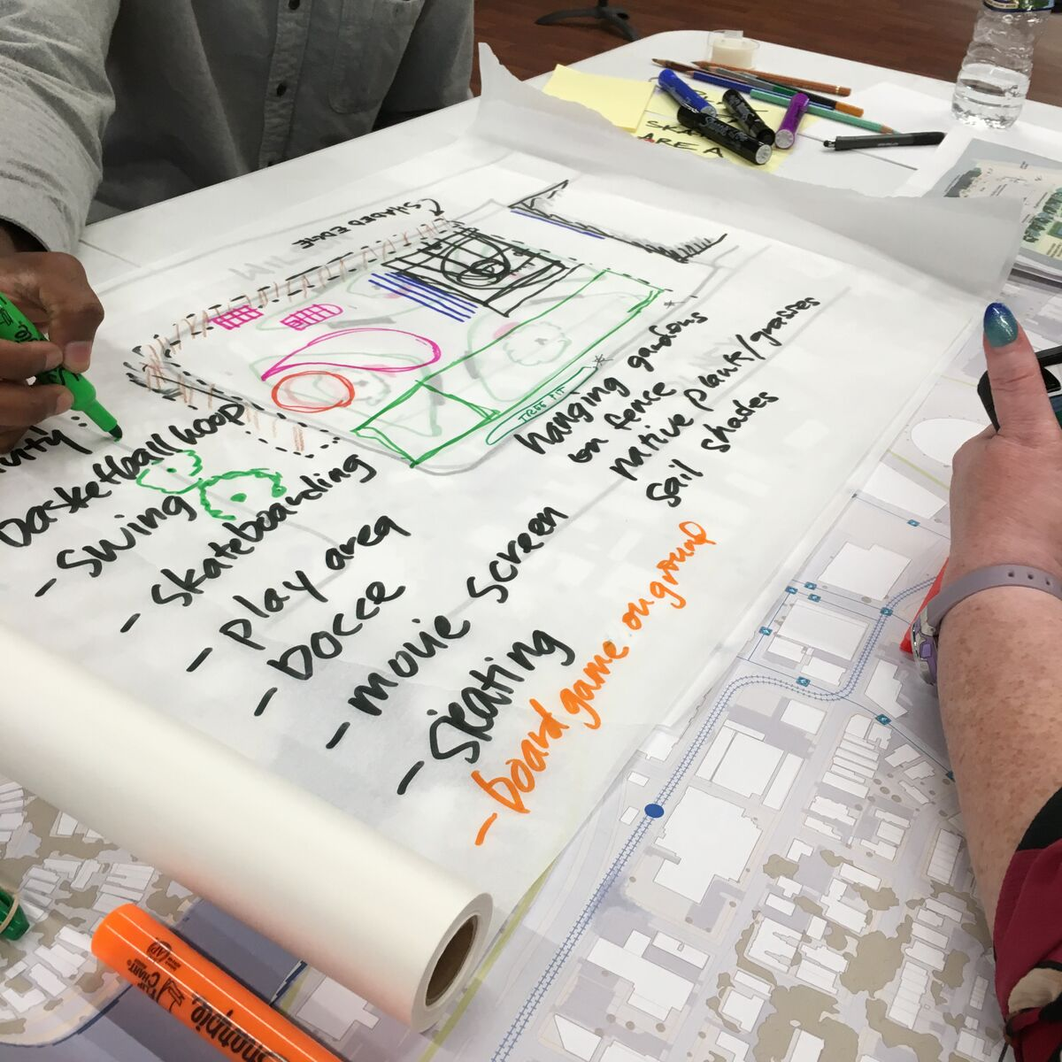 UPDATE: NEON Community Open Space Charrette