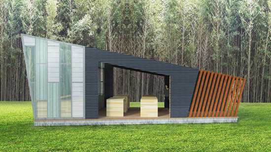 New Earth Farm/CDI: Teaching Pavilion