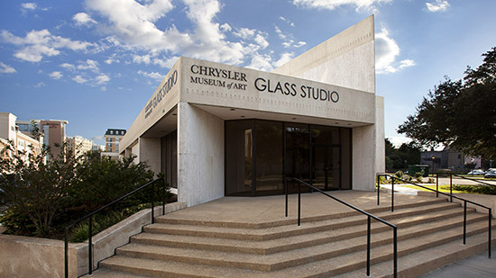 Chrysler Museum of Art: Perry Glass Studio Expansion