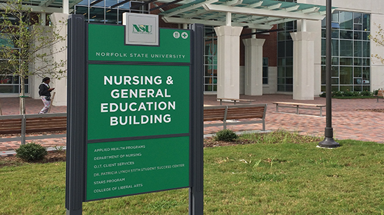 Norfolk State University: Campus Wayfinding