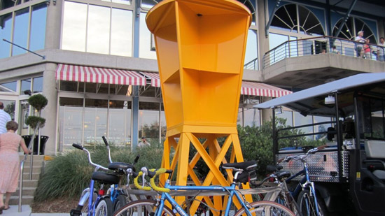 Buoy Bike Rack