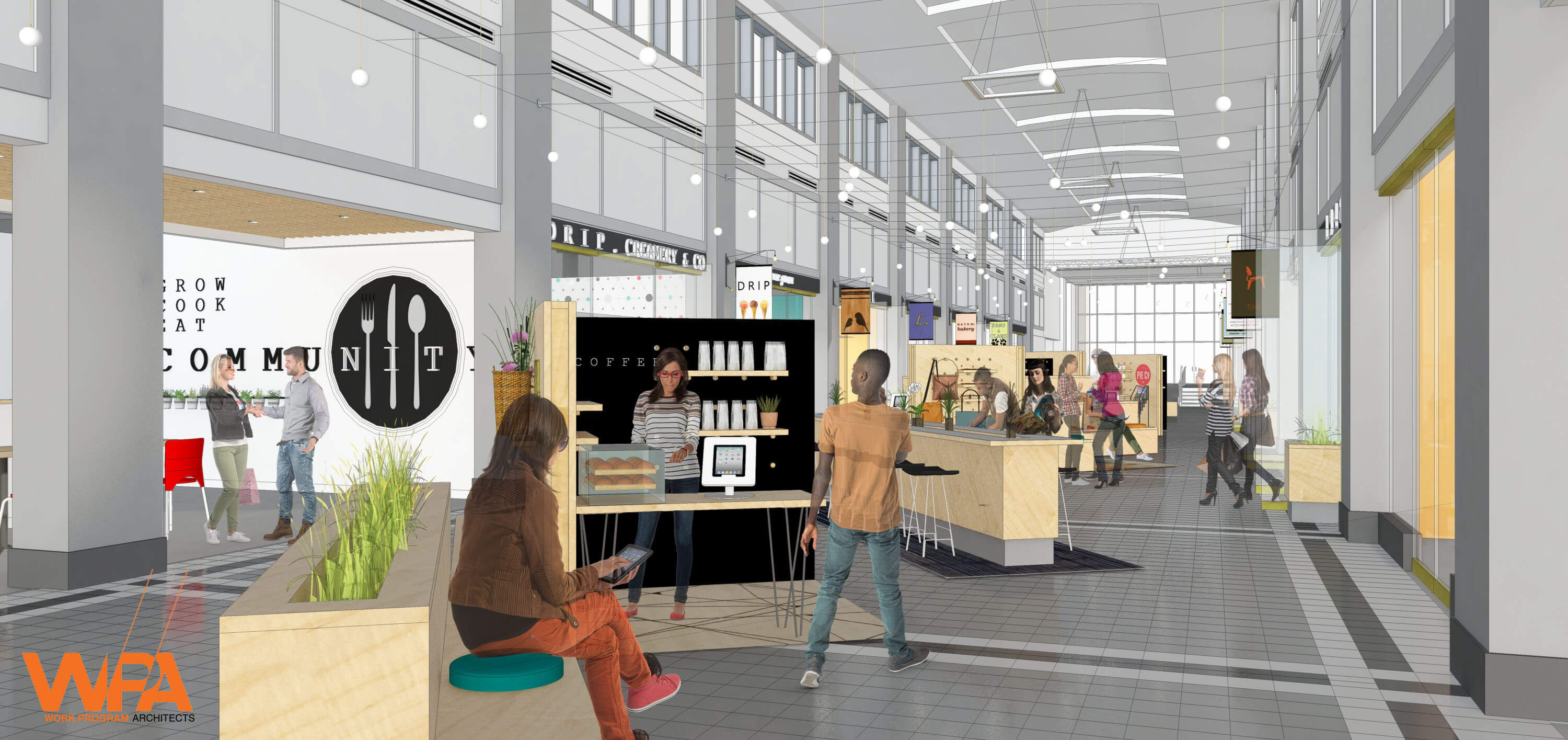 Vibrant Spaces Announces Selden Market